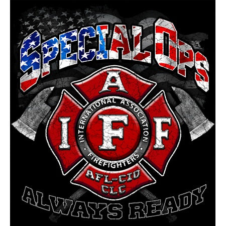 IAFF Special Op T-shirt Firefighter Gifts