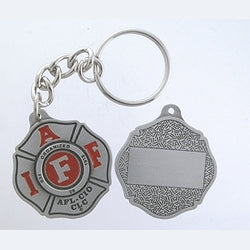 IAFF Maltese Key Chain