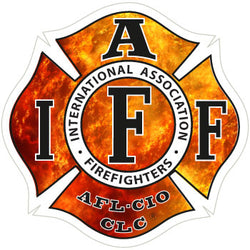 IAFF Flame Decal