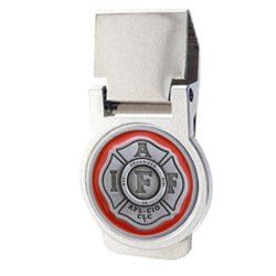 IAFF Maltese Money Clip