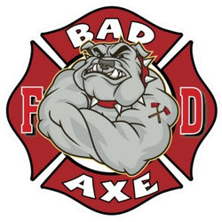 Bad Axe Firefighter Decal