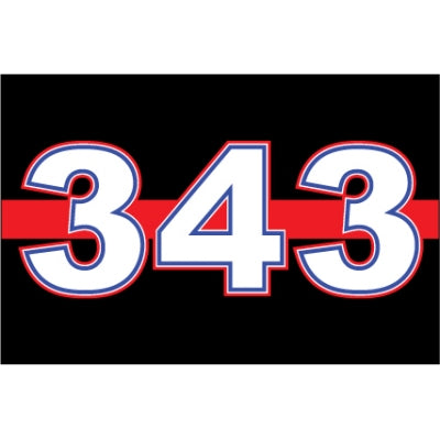 Thin Red Line 343 Decal