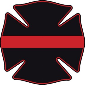 Thin Red Line Maltese Decal