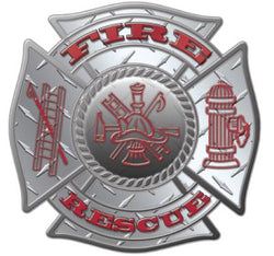 Diamond Fire Rescue Decal