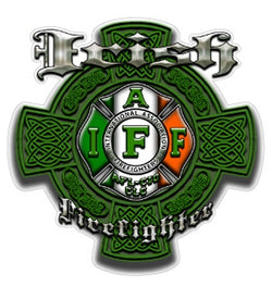 IAFF Irish Firefighter Decal