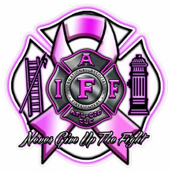 IAFF Never Give Up The Fight Decal