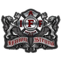 IAFF Union Strong Decal