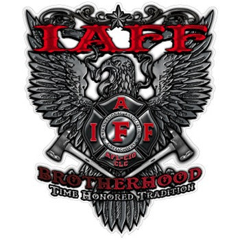 IAFF Brotherhood Decal
