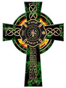 Celtic Cross Window Decal