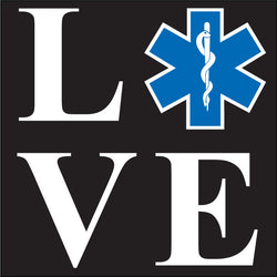 EMS Love Decal