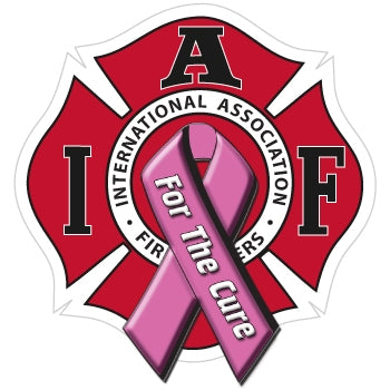 IAFF For The Cure Decal