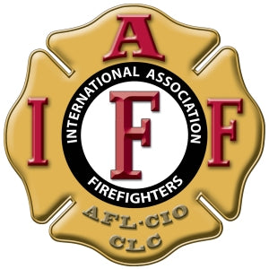 IAFF Gold Maltese Decal