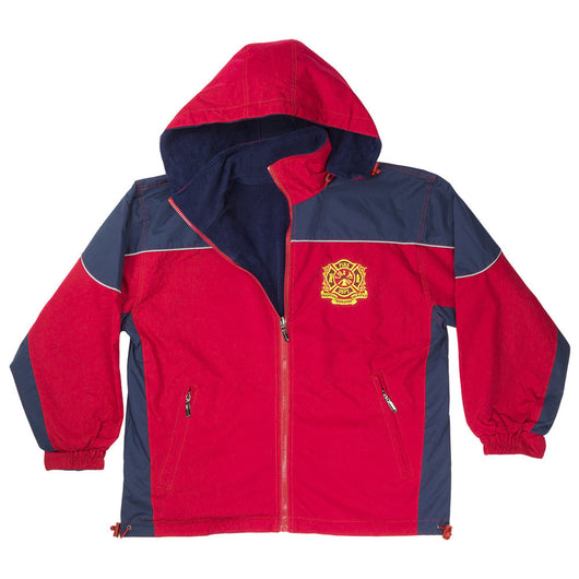 Hooded Reversible Fleece Jacket