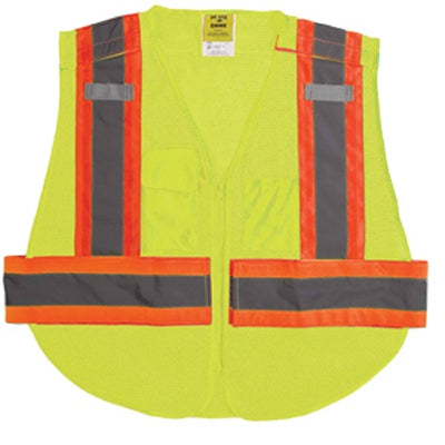 5 Point  Breakaway Reflective  Vest