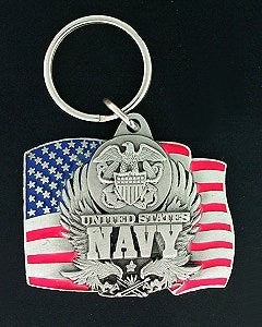 Navy Key Chain