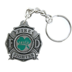 Irish Shamrock Keychain