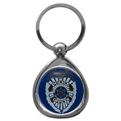 Police Chrome Key Chain