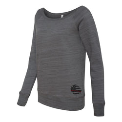 Thin Red Line Maltese Wideneck Womens Sweatshirt