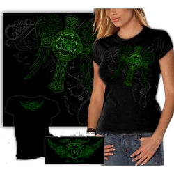 Ladies Elite Breed Irish Firefighter T-shirt