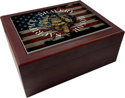 Sacrifice Bravery Honor Humidor