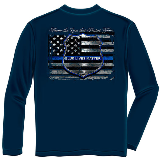 Honor the Lives Police Long Sleeve Shirt