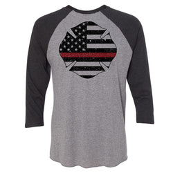 Thin Red Line Baseball 3/4 Sleeve Tee