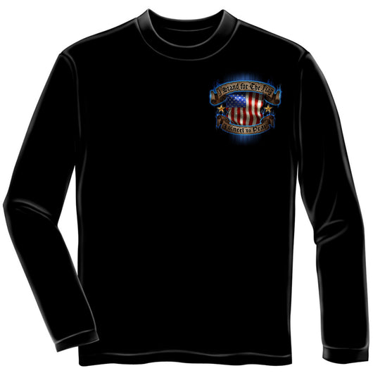 Long Sleeve Stand for the Flag Kneel To Pray Shirt