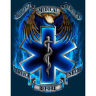 LS EMS Service Before Self T Shirt