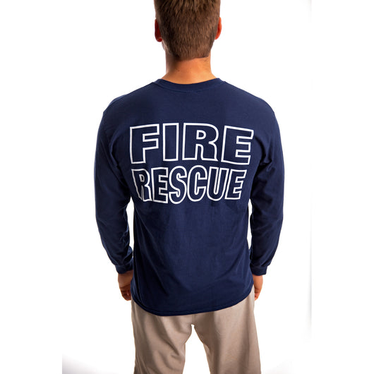 Long Sleeve Fire Rescue Duty Shirt