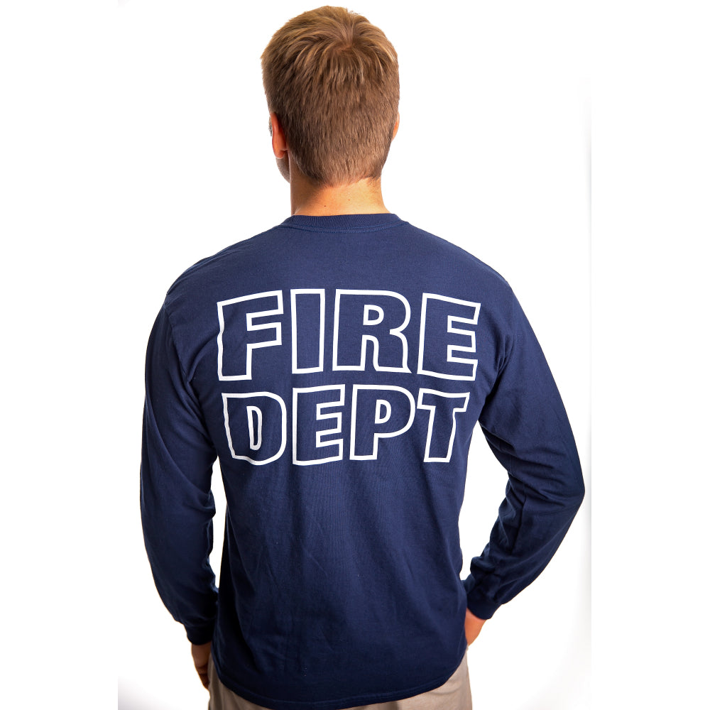 Long Sleeve Fire Dept Duty Shirt | Firefighter.com