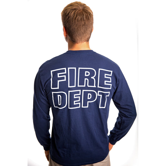 Long Sleeve Fire Dept Duty Shirt