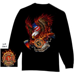 Long Sleeve Patriotic Tshirt