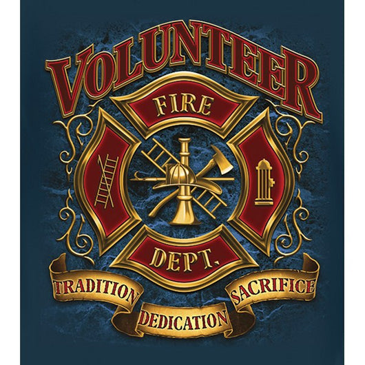 LS Volunteer Firefighter T Shirt