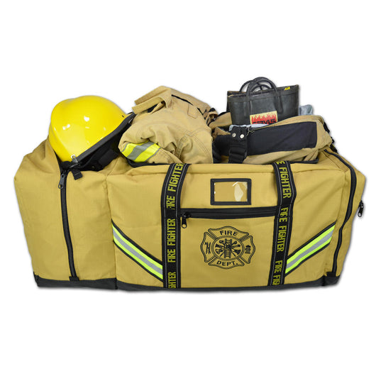 Premium 3XL Turnout Gear Bag - Tan