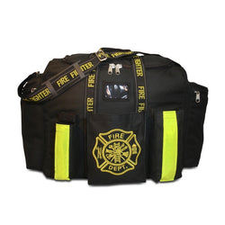 Black Step-In Turnout Gear Bag