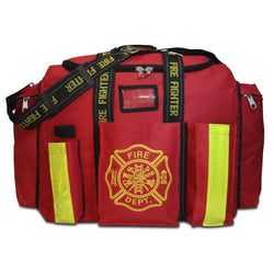 Red Step-In Turnout Gear Bag