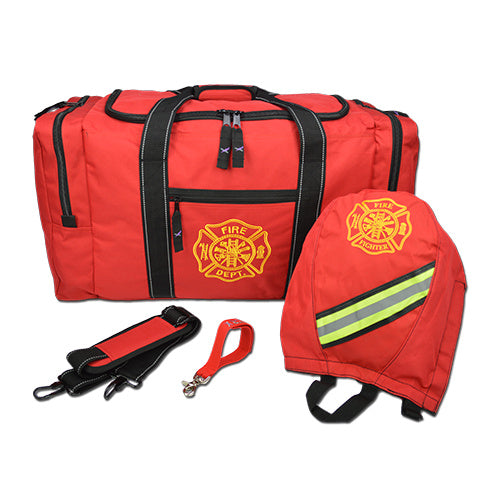Firefighter Gear Bag SCBA and Strap Package