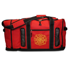 Red Quad Vent Turnout Gear Bag