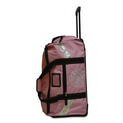 Pink Turnout Gear Bag with Wheels