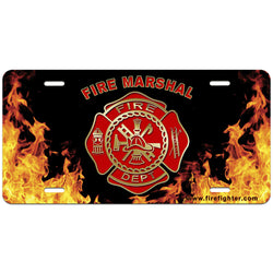 Fire Marshal License Plate