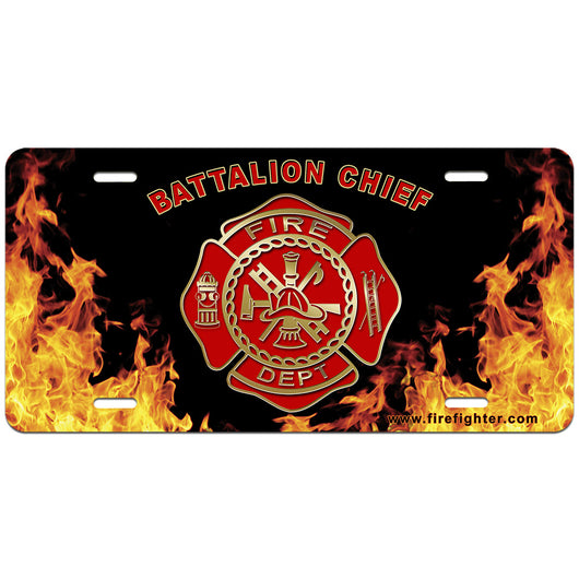 Batt Chief License Plate