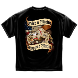 Once A Marine T-shirt