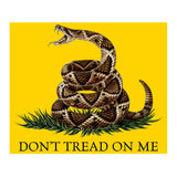 Dont Tread On Me Fleece Blanket