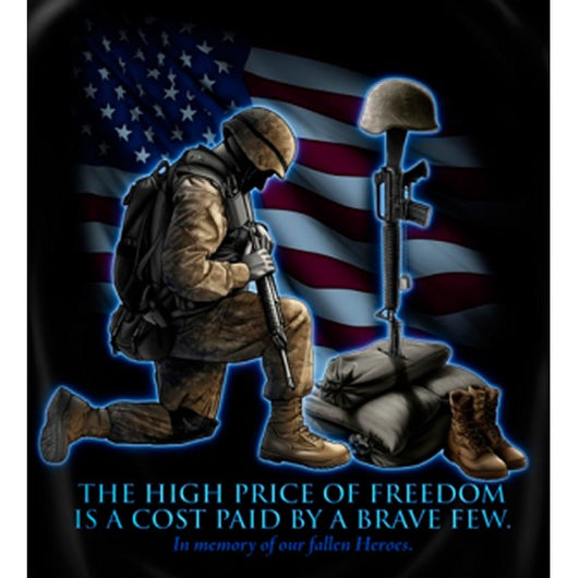 Soldiers The High Cost Of Freedom T-shirt