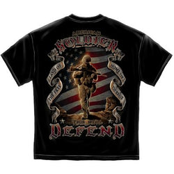 American Soldier This We Will Defend T-shirt
