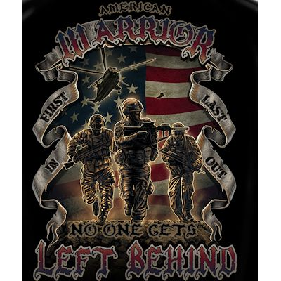 No One Gets Left Behind-American Warrior T-shirt