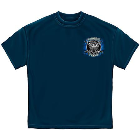 US Navy Honor Service Sacrifice Tshirt