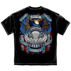 US Army Airborne Honor Service Sacrifice Tshirt
