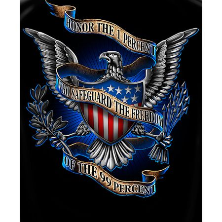 Honor The 1 Percent That Serve Tshirt
