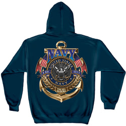 US Navy The Sea is Ours Sweatshirt